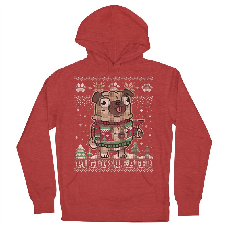 Pugly Sweater Women's Pullover Hoody by Vó Maria's Artist Shop