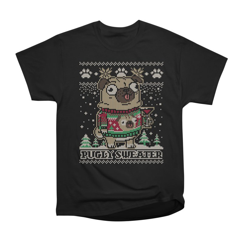 Pugly Sweater Men's Heavyweight T-Shirt by Vó Maria's Artist Shop