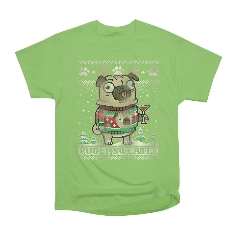 Pugly Sweater Women's Heavyweight Unisex T-Shirt by Vó Maria's Artist Shop