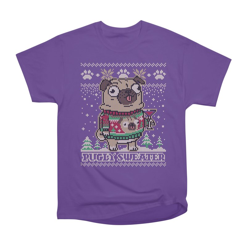 Pugly Sweater Men's Classic T-Shirt by Vó Maria's Artist Shop
