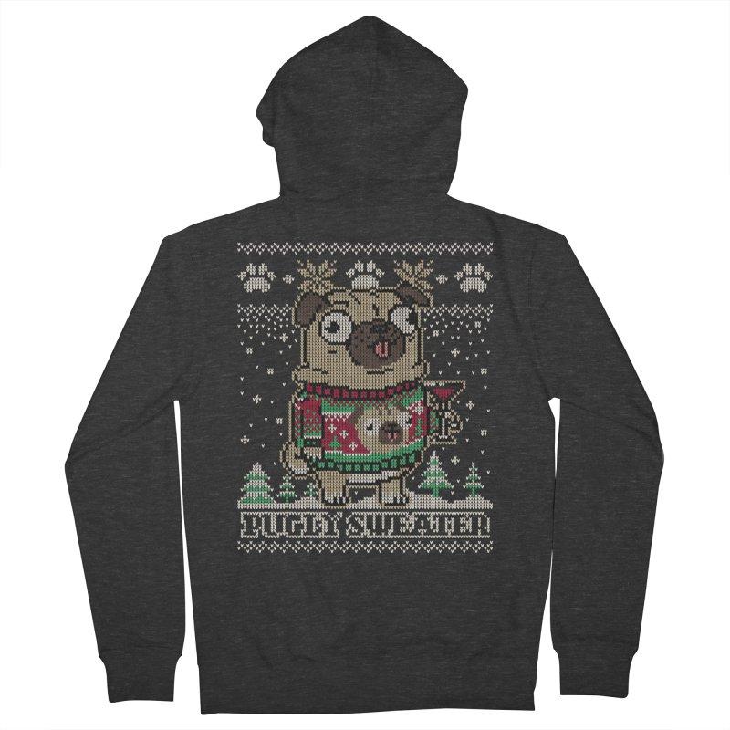 Pugly Sweater Women's Zip-Up Hoody by Vó Maria's Artist Shop