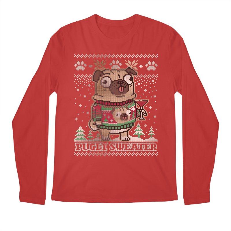 Pugly Sweater Men's Longsleeve T-Shirt by Vó Maria's Artist Shop