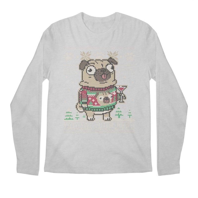 Pugly Sweater Men's Regular Longsleeve T-Shirt by Vó Maria's Artist Shop