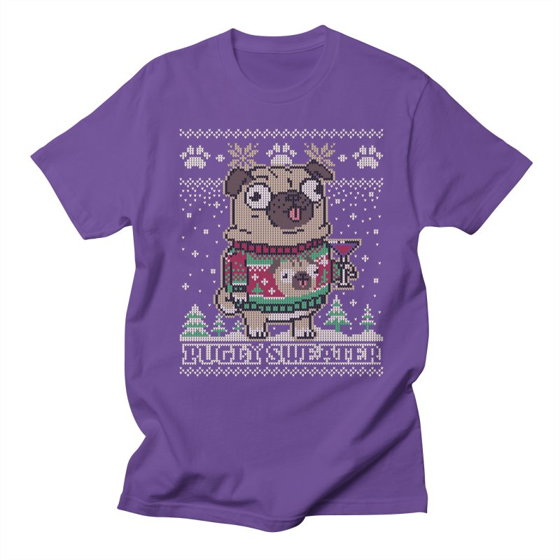 Pugly Sweater Men's Regular T-Shirt by Vó Maria's Artist Shop