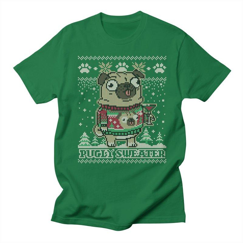Pugly Sweater Men's Regular T-Shirt by Vó Maria's Artist Shop