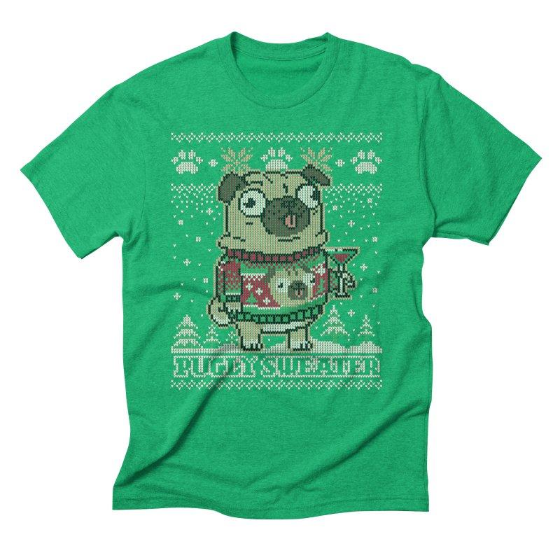 Pugly Sweater Men's Triblend T-Shirt by Vó Maria's Artist Shop
