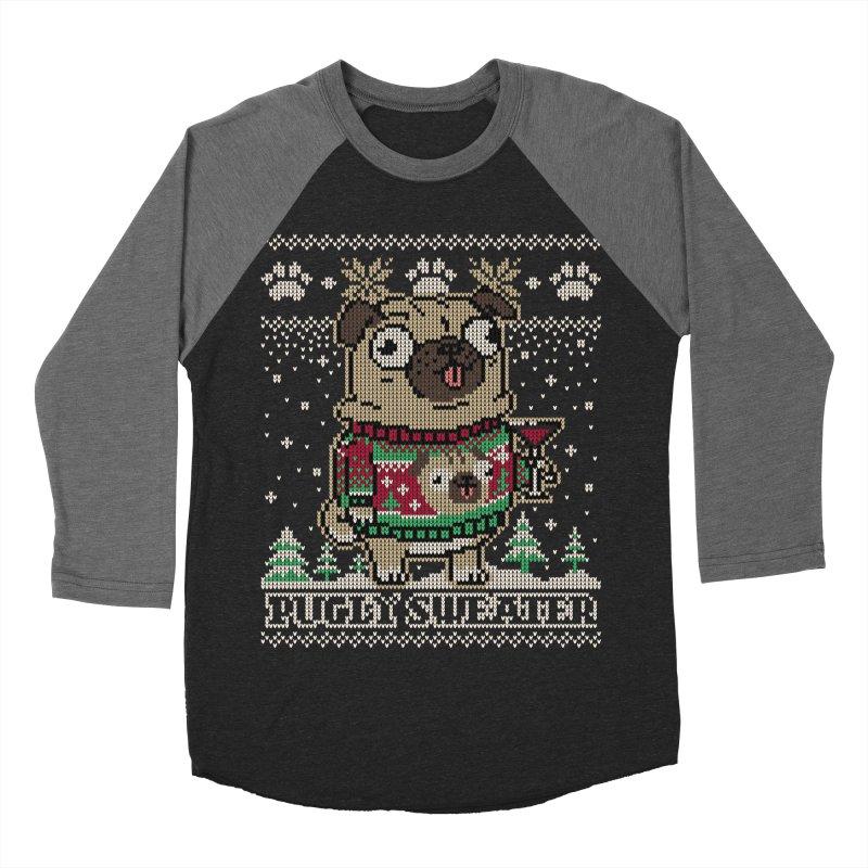 Pugly Sweater Women's Baseball Triblend Longsleeve T-Shirt by Vó Maria's Artist Shop
