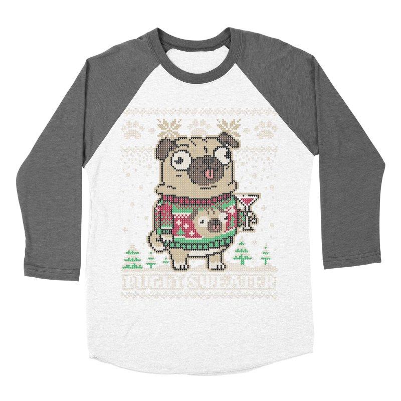 Pugly Sweater Men's Baseball Triblend T-Shirt by Vó Maria's Artist Shop