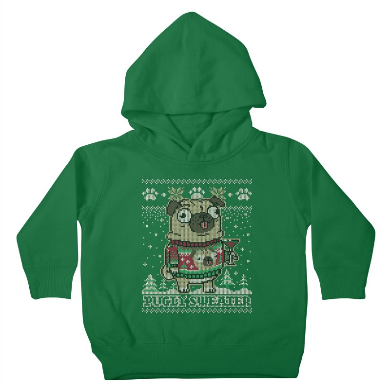 Pugly Sweater Kids Toddler Pullover Hoody by Vó Maria's Artist Shop