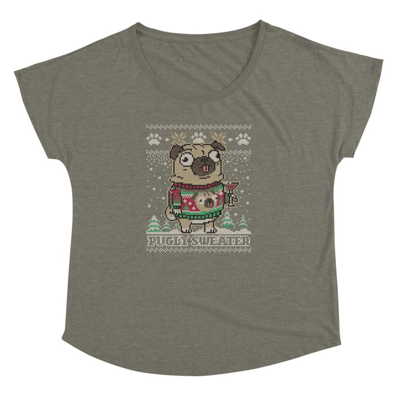 Pugly Sweater Women's Dolman by Vó Maria's Artist Shop