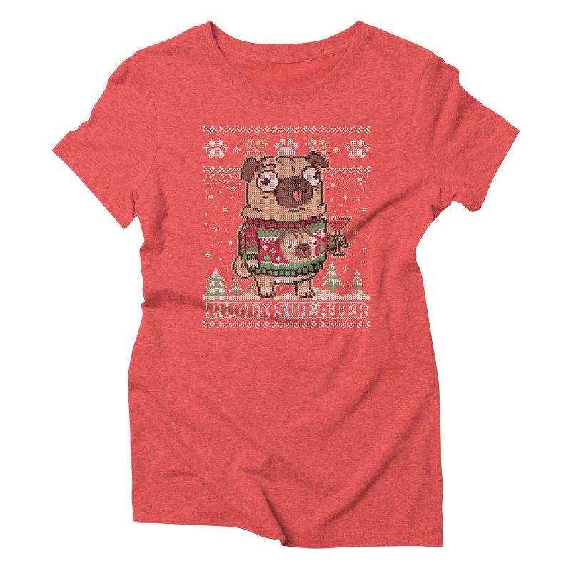 Pugly Sweater Women's Triblend T-Shirt by Vó Maria's Artist Shop