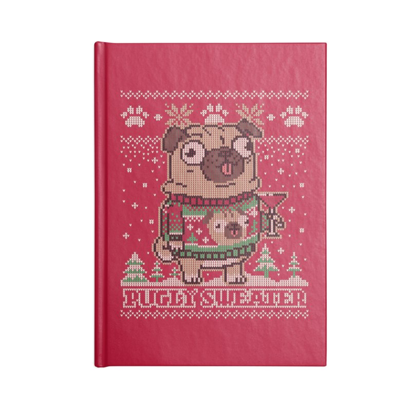 Pugly Sweater Accessories Notebook by Vó Maria's Artist Shop