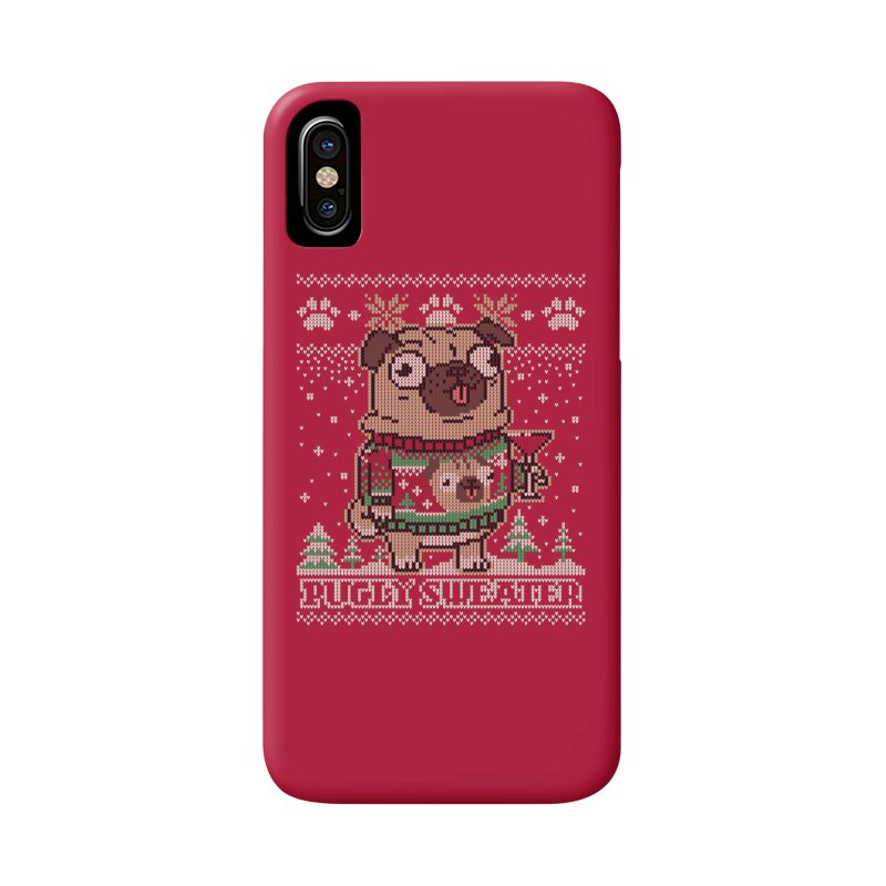 Pugly Sweater Accessories Phone Case by Vó Maria's Artist Shop