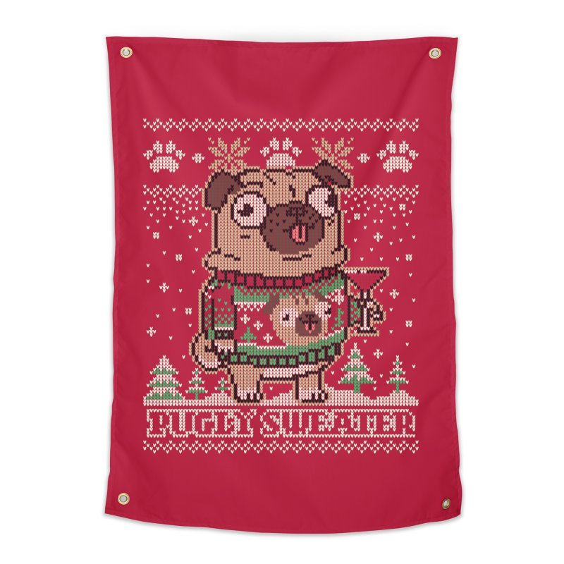 Pugly Sweater Home Tapestry by Vó Maria's Artist Shop