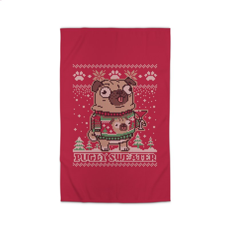 Pugly Sweater Home Rug by Vó Maria's Artist Shop