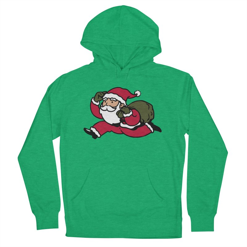 Santa Claus Monopoly Women's French Terry Pullover Hoody by Vó Maria's Artist Shop