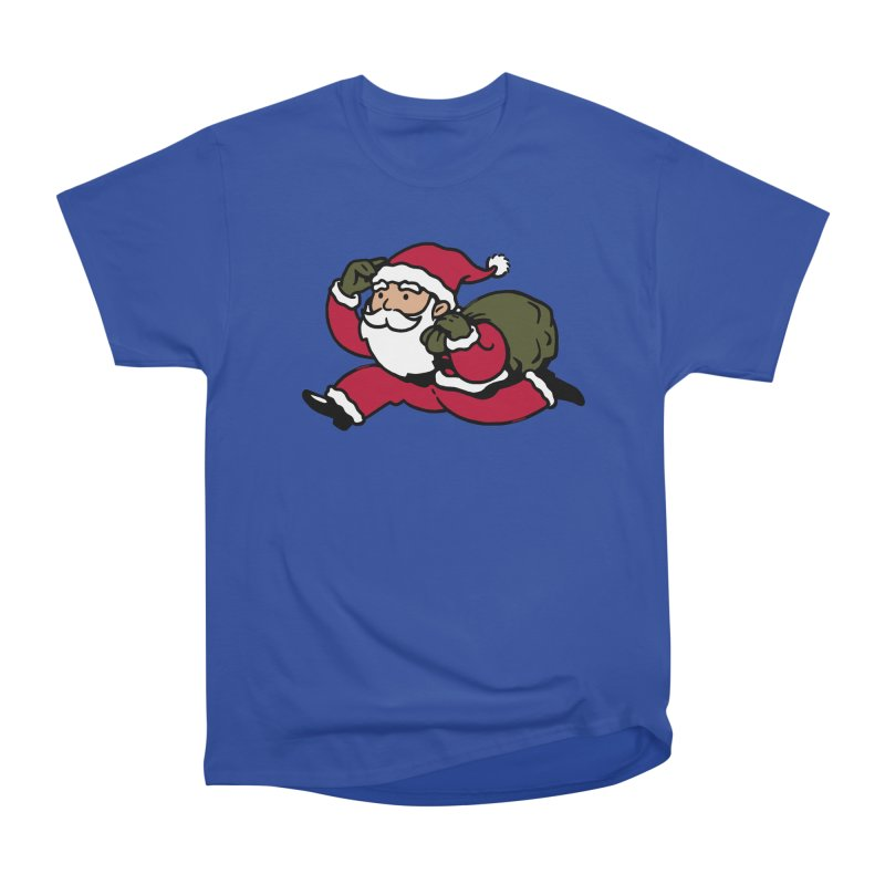 Santa Claus Monopoly Women's Heavyweight Unisex T-Shirt by Vó Maria's Artist Shop