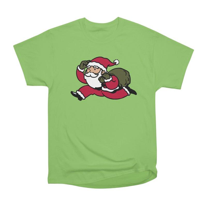 Santa Claus Monopoly Men's Heavyweight T-Shirt by Vó Maria's Artist Shop
