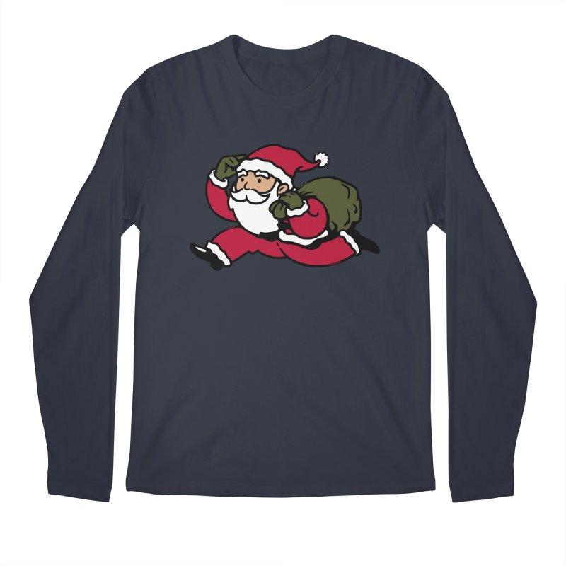 Santa Claus Monopoly Men's Longsleeve T-Shirt by Vó Maria's Artist Shop