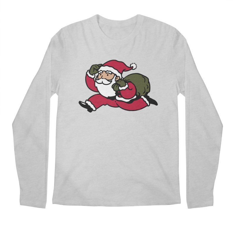 Santa Claus Monopoly Men's Regular Longsleeve T-Shirt by Vó Maria's Artist Shop