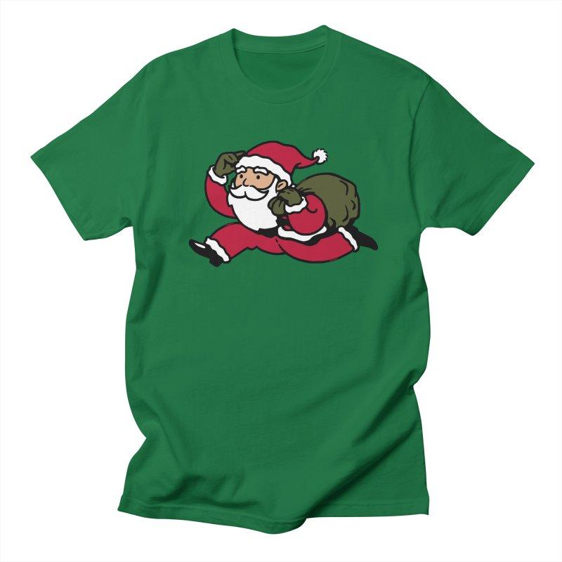 Santa Claus Monopoly Women's Regular Unisex T-Shirt by Vó Maria's Artist Shop