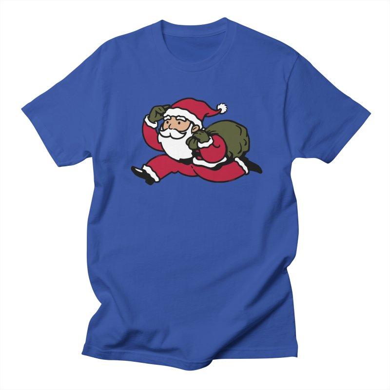 Santa Claus Monopoly Men's Regular T-Shirt by Vó Maria's Artist Shop