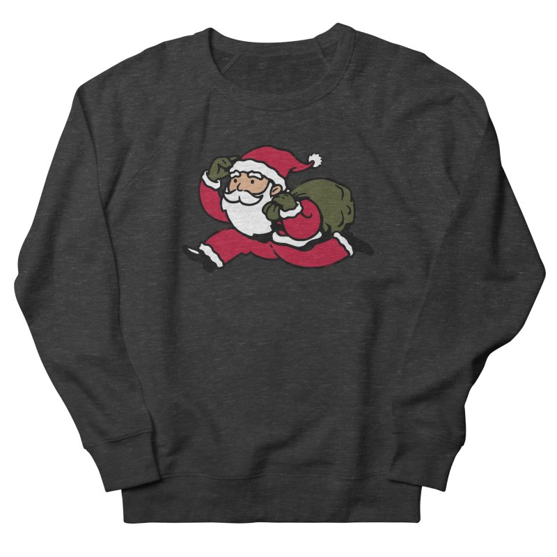 Santa Claus Monopoly Men's French Terry Sweatshirt by Vó Maria's Artist Shop