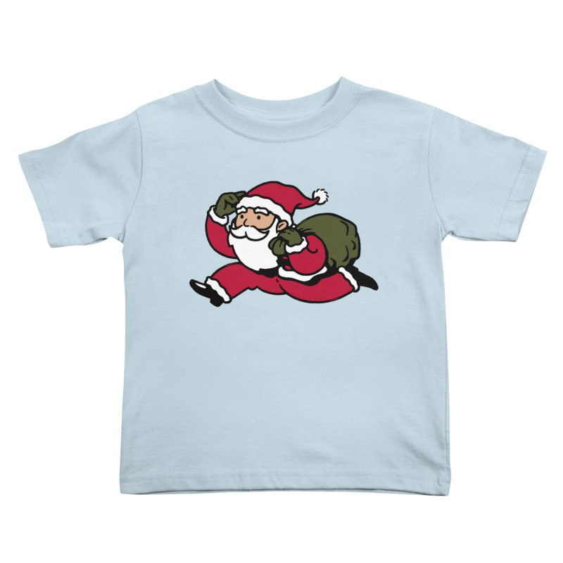 Santa Claus Monopoly Kids Toddler T-Shirt by Vó Maria's Artist Shop