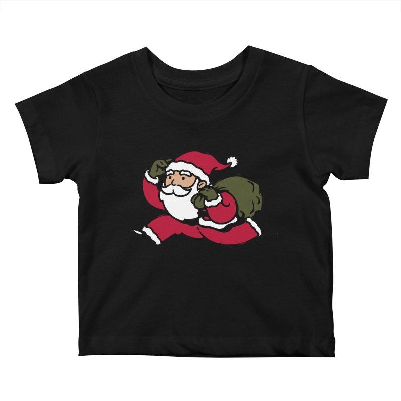 Santa Claus Monopoly Kids Baby T-Shirt by Vó Maria's Artist Shop