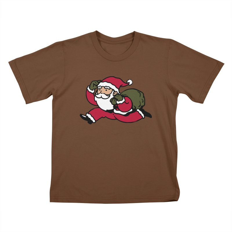 Santa Claus Monopoly Kids T-Shirt by Vó Maria's Artist Shop