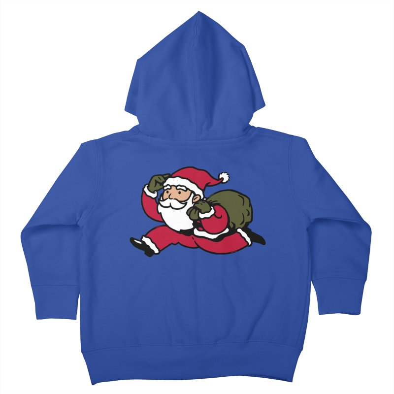 Santa Claus Monopoly Kids Toddler Zip-Up Hoody by Vó Maria's Artist Shop
