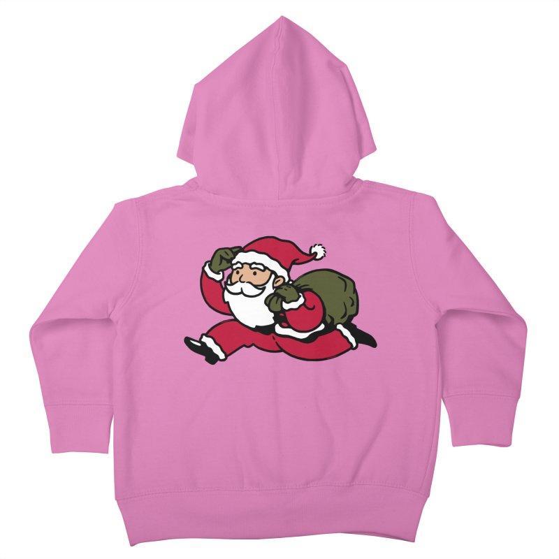 Santa Claus Monopoly Kids Toddler Zip-Up Hoody by Vó Maria's Artist Shop