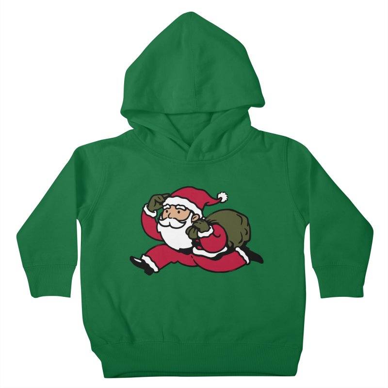 Santa Claus Monopoly Kids Toddler Pullover Hoody by Vó Maria's Artist Shop