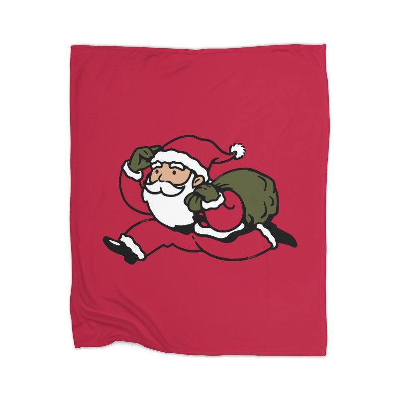 Santa Claus Monopoly Home Blanket by Vó Maria's Artist Shop