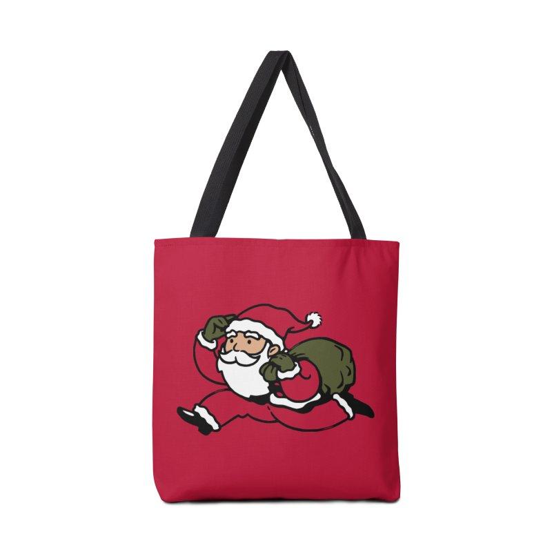 Santa Claus Monopoly Accessories Bag by Vó Maria's Artist Shop