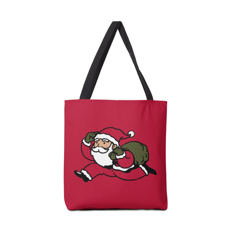 Santa Claus Monopoly Accessories Bag by Vó Maria's Artist Shop