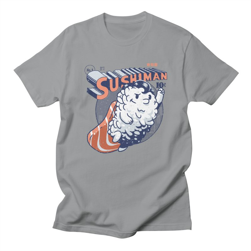 Sushiman Men's Regular T-Shirt by Vó Maria's Artist Shop