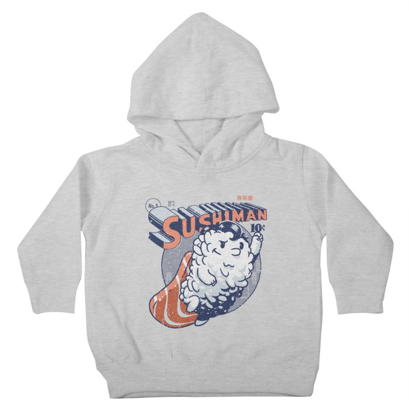 Sushiman Kids Toddler Pullover Hoody by Vó Maria's Artist Shop