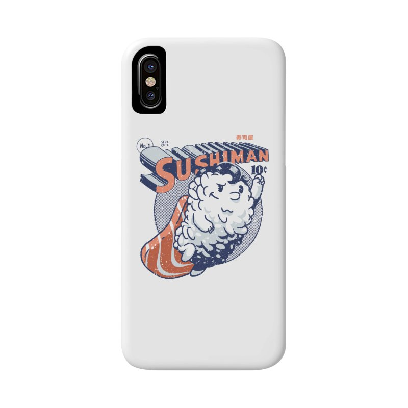 Sushiman Accessories Phone Case by Vó Maria's Artist Shop