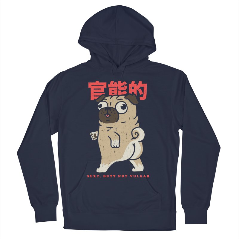 Sexy, Butt Not Vulgar Men's French Terry Pullover Hoody by Vó Maria's Artist Shop