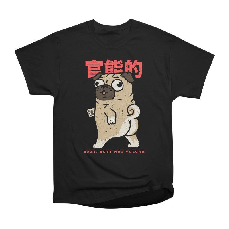 Sexy, Butt Not Vulgar Men's Heavyweight T-Shirt by Vó Maria's Artist Shop