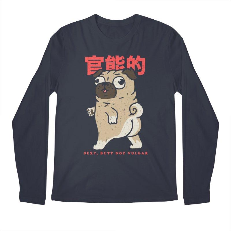 Sexy, Butt Not Vulgar Men's Regular Longsleeve T-Shirt by Vó Maria's Artist Shop