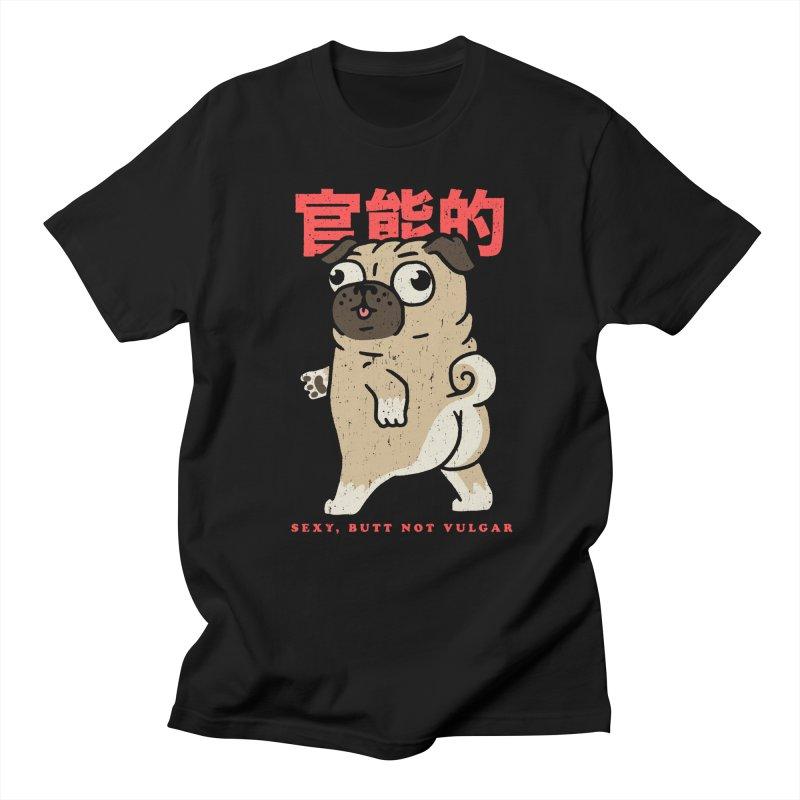 Sexy, Butt Not Vulgar Men's Regular T-Shirt by Vó Maria's Artist Shop