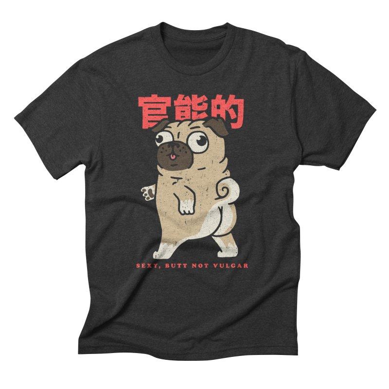 Sexy, Butt Not Vulgar Men's Triblend T-Shirt by Vó Maria's Artist Shop