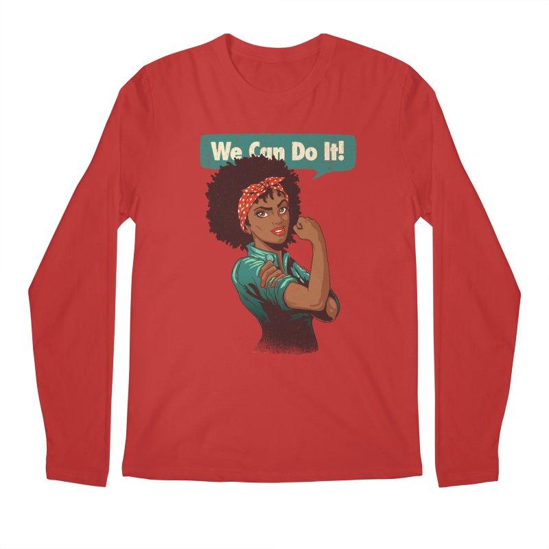We Can Do It! Men's Longsleeve T-Shirt by Vó Maria's Artist Shop