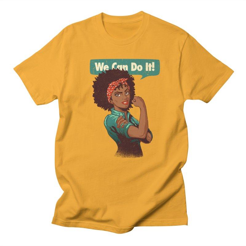 We Can Do It! Women's Unisex T-Shirt by Vó Maria's Artist Shop