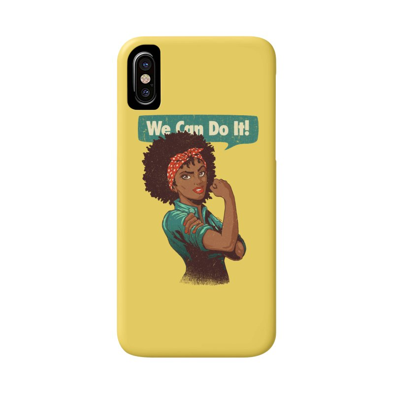 We Can Do It! Accessories Phone Case by Vó Maria's Artist Shop