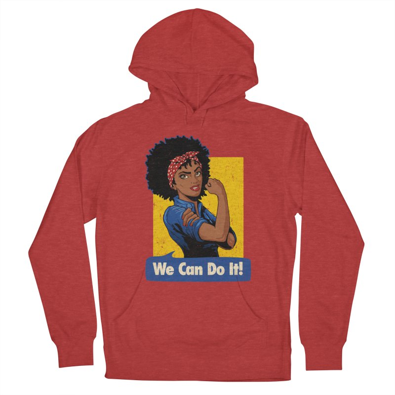 We Can Do It! V2 Men's Pullover Hoody by Vó Maria's Artist Shop