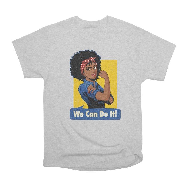 We Can Do It! V2 Men's Heavyweight T-Shirt by Vó Maria's Artist Shop