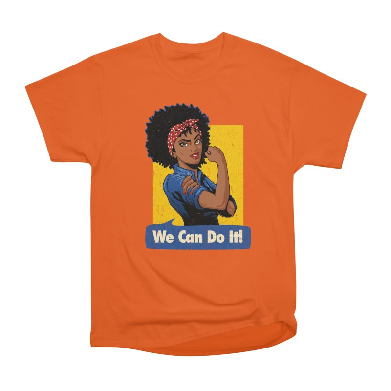 We Can Do It! V2 Women's Classic Unisex T-Shirt by Vó Maria's Artist Shop